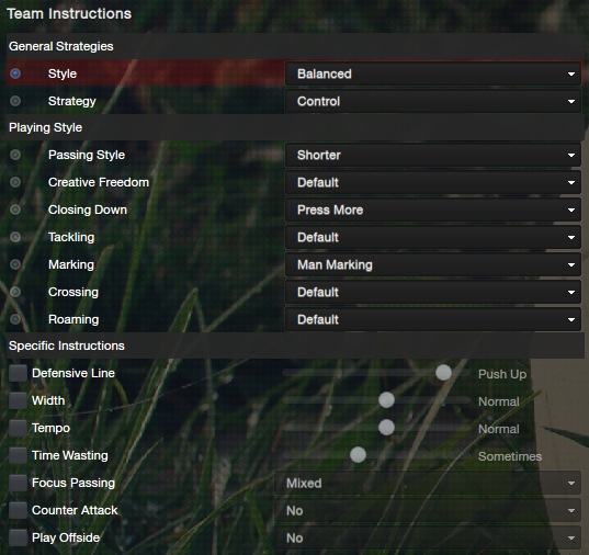 fm13 lower league 4-3-2-1 instructions control
