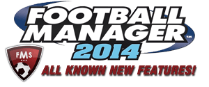 Football Manager 2014 New Features, the complete list