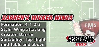 Darren's wicked wings 4-1-2-3