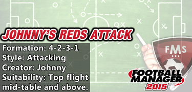 Best FM 2015 Tactics - Johnny Reds Attack