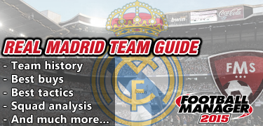 FM 2015 Real Madrid team guide