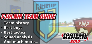 Fjonlir FM 2015 team guide