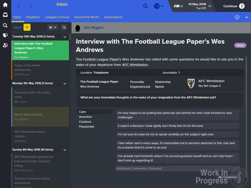 FM16 - Exclusive Interviews