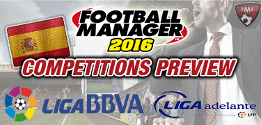 FM16 competitions preview spain