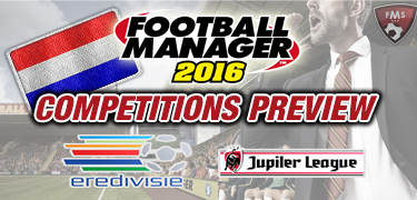 FM 2016 competitions preview Netherlands