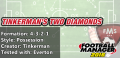 Best FM 2016 tactics two diamonds