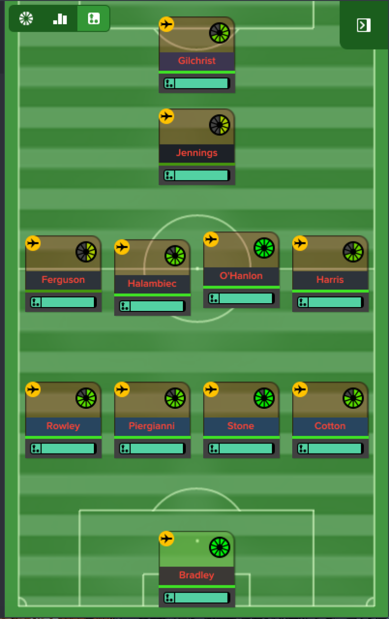 4-4-1-1 formation