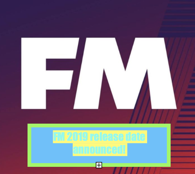 football manager 2019 release date fms logo idea