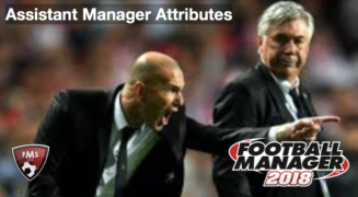 football manager assistant manager attributes