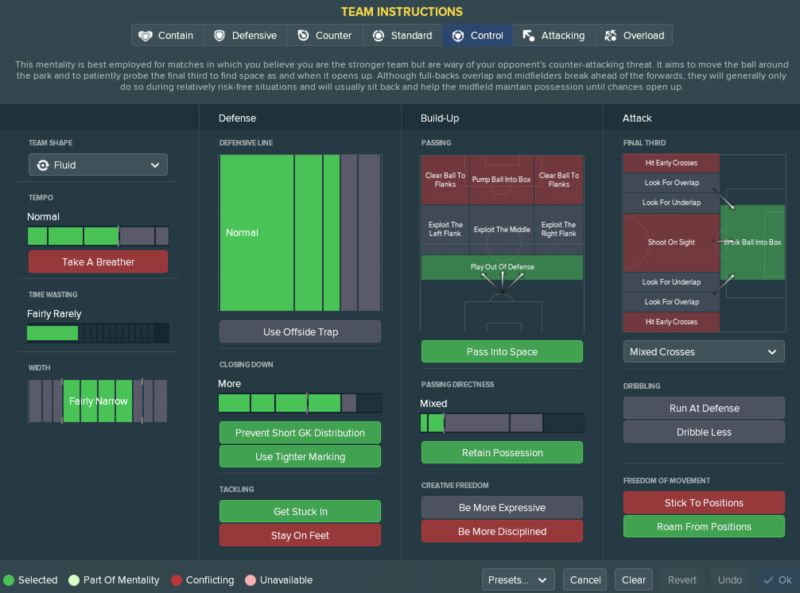 best fm 2018 tactic for lower leagues 3 1 3 1 2 formation TI